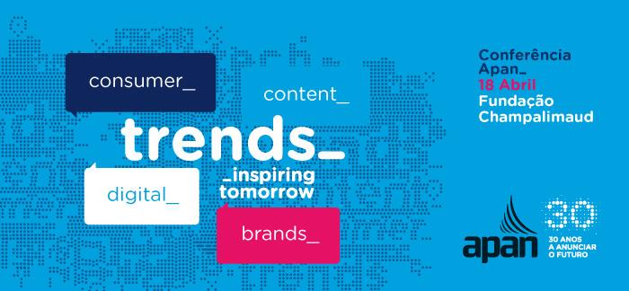 trends: Inspiring Tomorrow - Conferência APAN a 18 de abril na Fundação Champalimaud