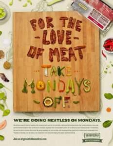 Greenfield Natural Meat Co. pede para consumidores evitarem a carne