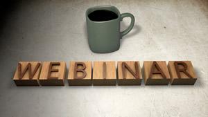 Webinar sobre tendências de produção de marketing