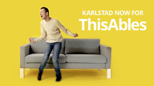 ThisAbles mostra que Ikea é de todos e para todos